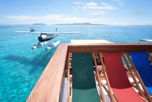 Fiji Is Home To An Incredible Floating Bar And Pizzeria