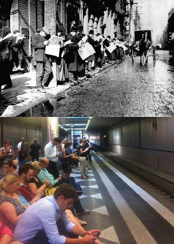Pictures That Show Just How Much People, Places And Things Have Changed