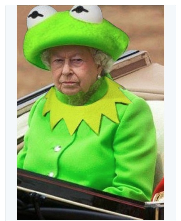The Internet Turned Queen Elizabethu0026#39;s Dress Into The Hottest Meme | Celebrities