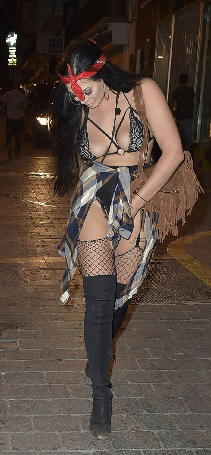 Chloe Ferry And Marnie Simpson Hit The Streets In Revealing Outfits