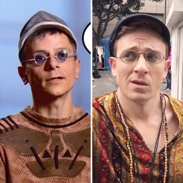 A Former Buffy Actor Has Been Hilariousy Recreating Celebrity Outfits