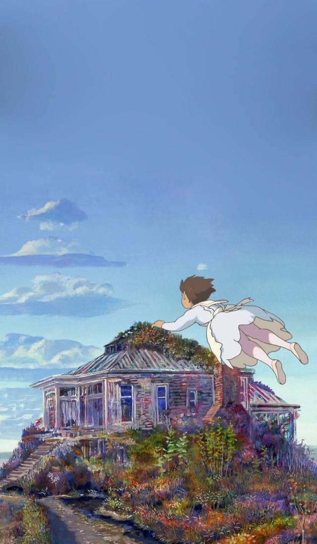 Amazing Smartphone Wallpaper From Studio Ghibli