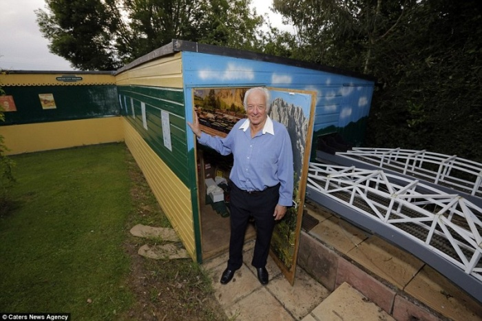 This British Pensioner's Model Railway Is Worth A Fortune