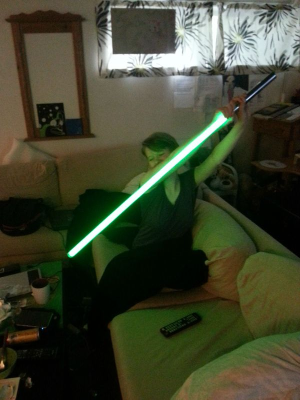 Everything You Need To Make Your Own Homemade Lightsaber