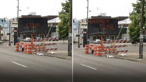 Hacked Road Signs With Hilarious Messages