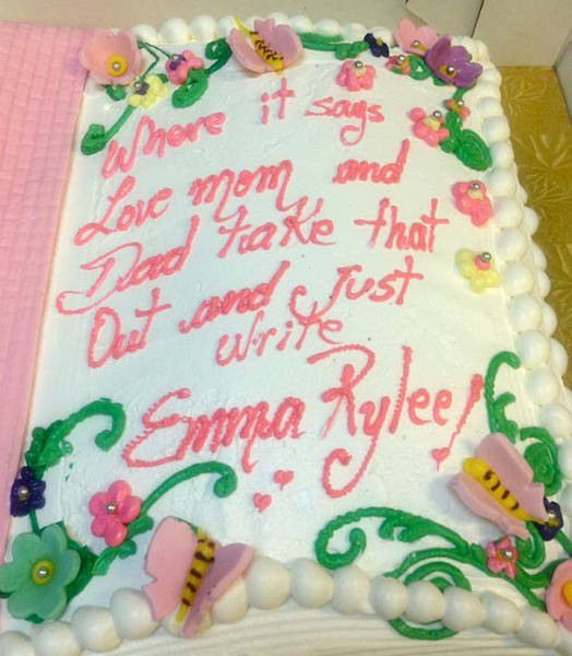 Cake Makers Who Took Their Instructions Way Too Literally
