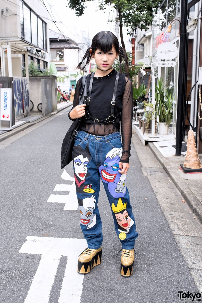 Japanese Fashion Is Sometimes Strange And Provocative
