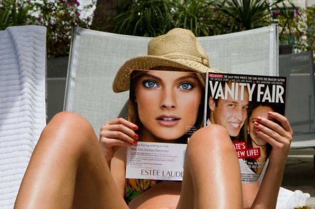 Book And Magazine Covers That Create Amusing Optical Illusions