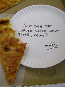 Passive Aggressive Notes Are The Weapon Of Choice When Co-Workers Go To War