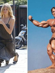 Celebrities Look Bizarre When You Change The Size Of Their Legs