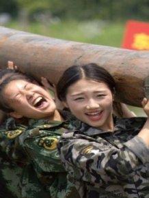 Chinese Flight Attendants Go Through Some Intense Training