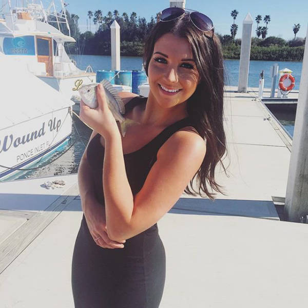 Amber Balcaen Is The NASCAR Driver On The Track