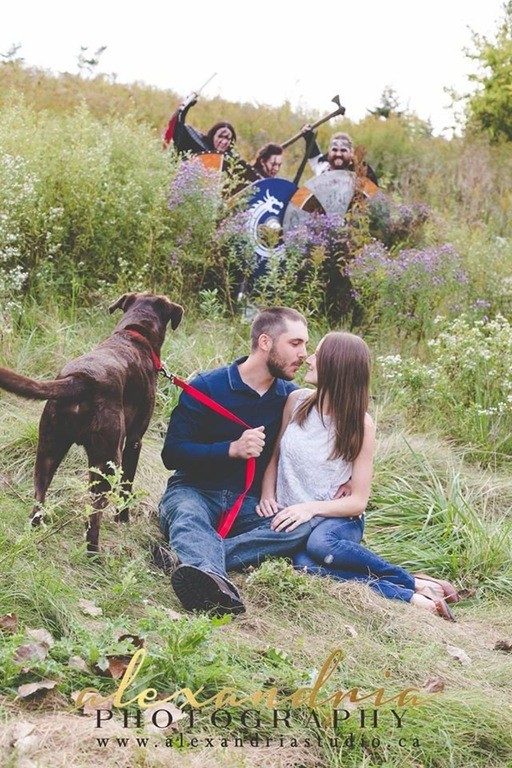 18 Engagement Photos That Took Awkward To The Next Level