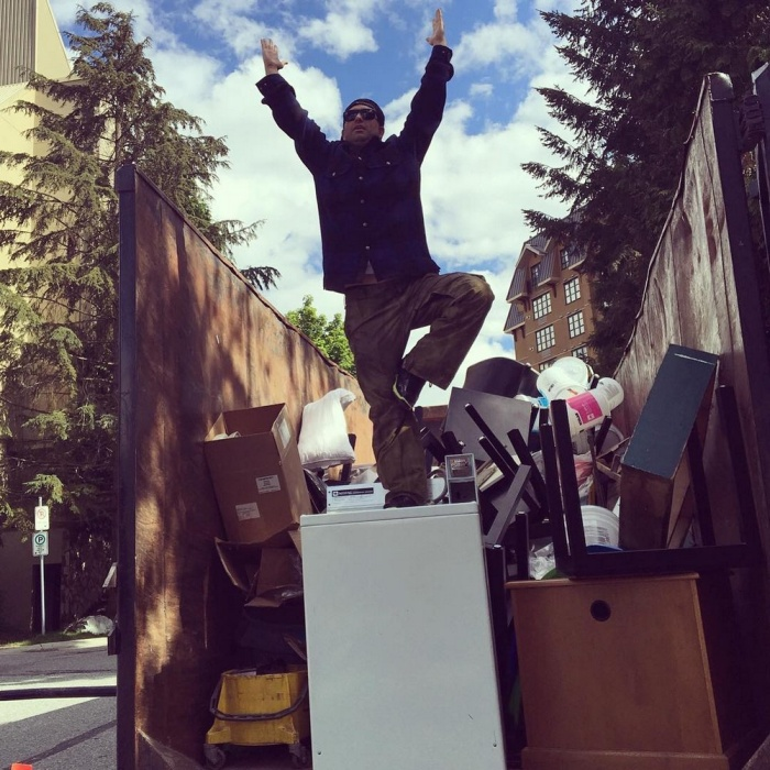 Traveling Man Embraces His Passion For Garbage Yoga
