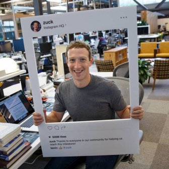 Somebody Noticed Something Peculiar In This Photo Of Mark Zuckerberg
