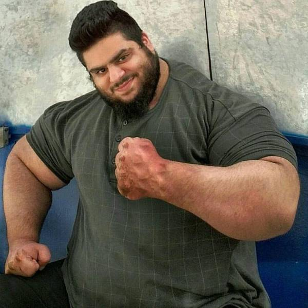 This Iranian Man Is A Real Life Hulk