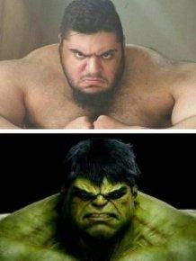 This Iranian Man Is A Real Life Hulk