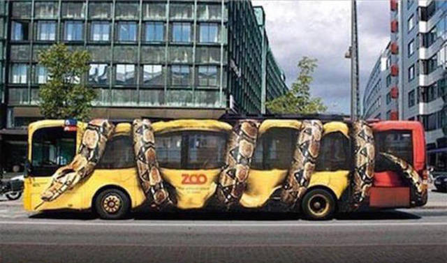 Clever And Creative Bus Advertisements That Will Get Your Attention