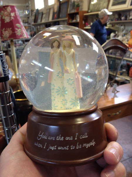 Thrift Shops Are Like A Time Capsule Filled With The Strangest Items