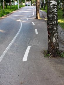Brutal Looking Bike Path From Russia