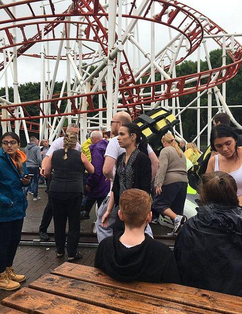 Tsunami Rollercoaster Derails At Scottish Fairground