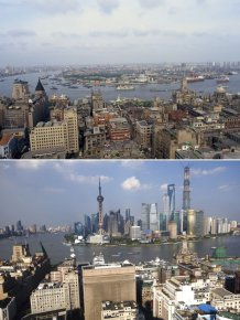 Famous Cities From Around The World Back In The Day And Today