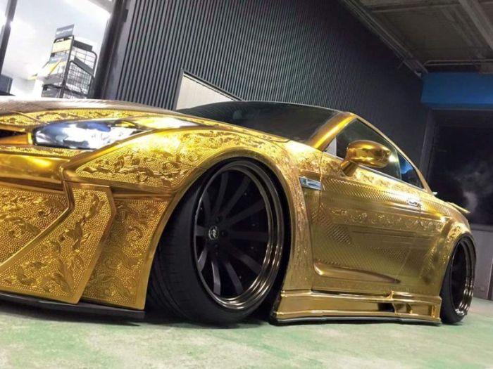 Carved Nissan GT-R Impresses At Tokyo Motor Show 2016, part 2016