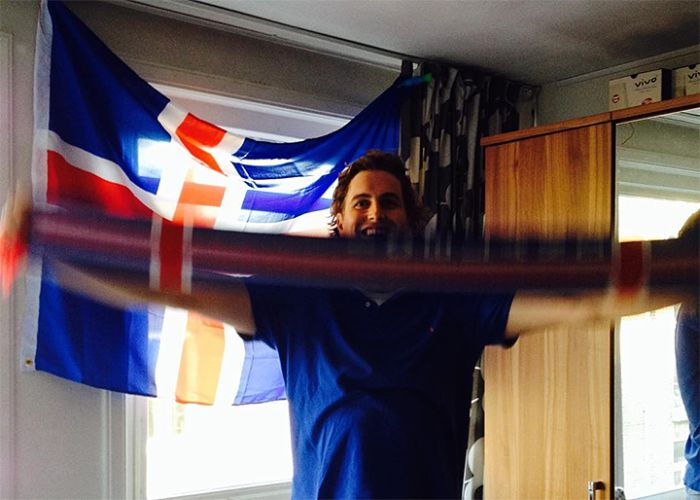 Iceland Goes Crazy After Their Team Defeats England At Euro 2016, part 2016