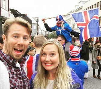 Iceland Goes Crazy After Their Team Defeats England At Euro 2016