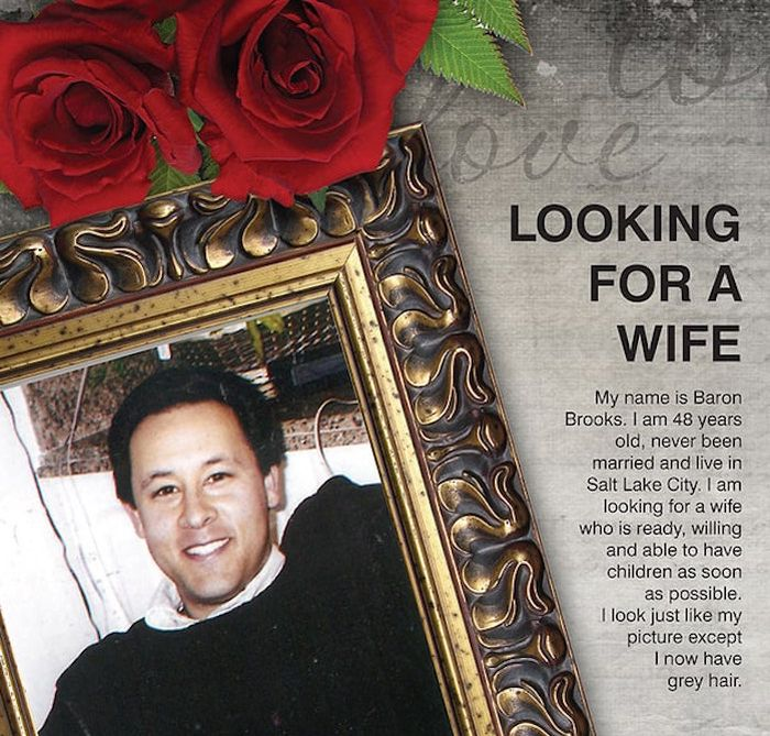 Dad Buys Full Page Ad In The Newspaper To Help His Son Find A Wife