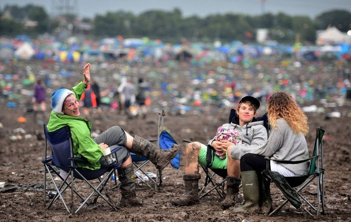 Glastonbury Concertgoers Reluctantly Head Back To The Real World