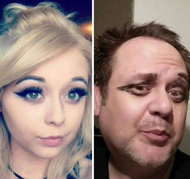 Dad Goes Out Of His Way To Troll His Daughter By Recreating Her Selfies