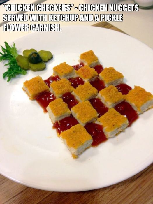 Low Budget Meals That Were Made To Look Like Gourmet Dinners