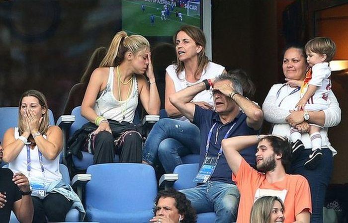 Shakira Reacts To Her Husband's Loss At Euro 2016, part 2016