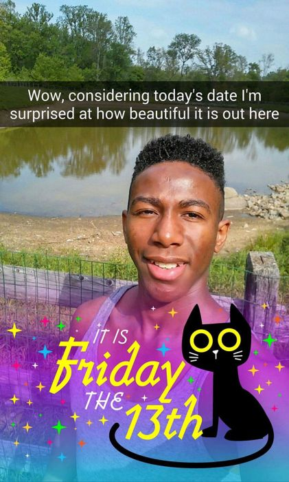 This Guy's Snapchat Story Proves Friday The 13th Is A Dangerous Day