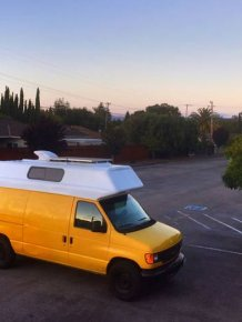 Old Van Gets Converted Into An Adventuremobile