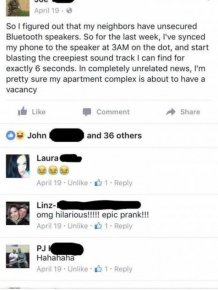 Guy Comes Up With Ingenious Plan To Get Rid Of His Crappy Neighbor