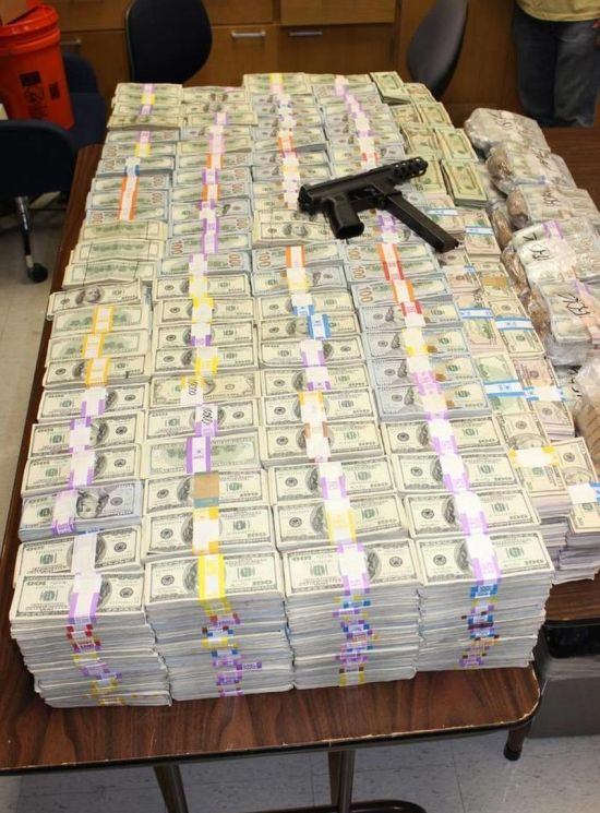 Police Find $24 Million Dollars In The Wall Of A Miami Home