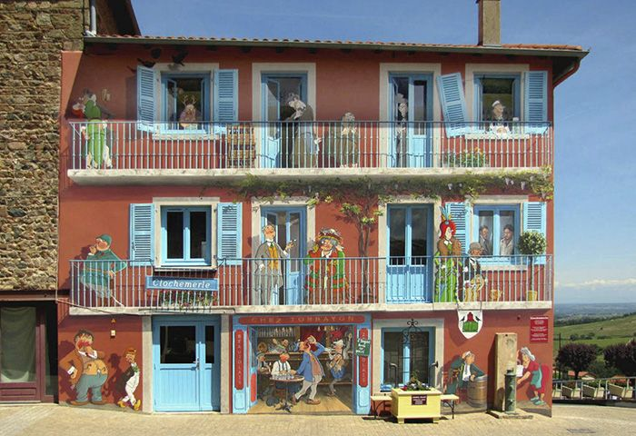 French Artist Turns City Walls Into Unforgettable Art
