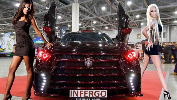 Impressive Automobiles From Moscow Tuning Show 2016, part 2016