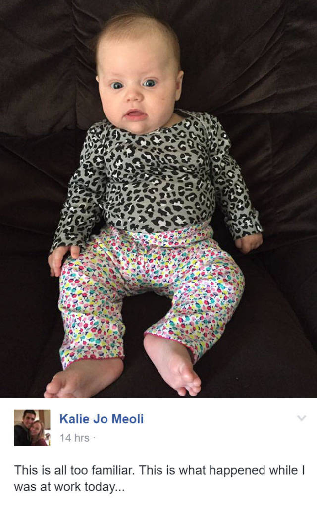 It's Hilarious When Dads Fail At Dressing Their Babies