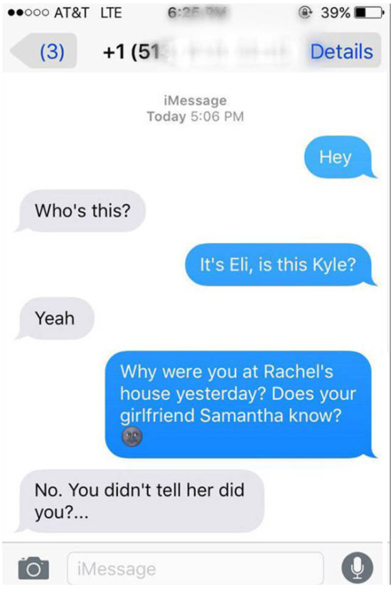Cheating Boyfriend Gets Exactly What He Deserves