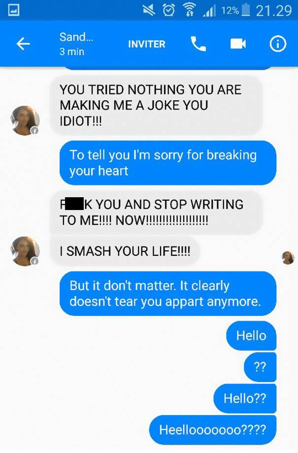 Guy Uses Adele Lyrics To Prove He's An Expert At Trolling