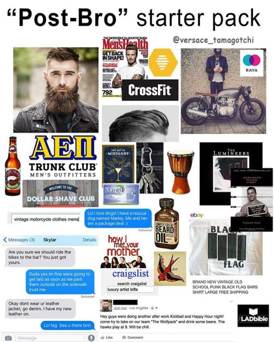 Starter Packs For People Who Love To Live Up To Stereotypes