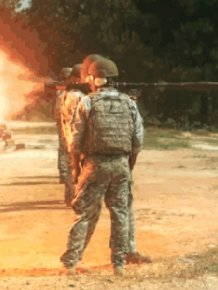 Awesome GIFs Of Deadly Weapons Firing In Slow Motion