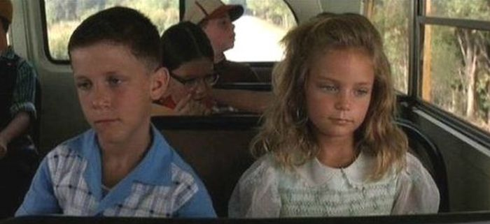 Young Forrest Gump And Jenny Back In The Day And Today