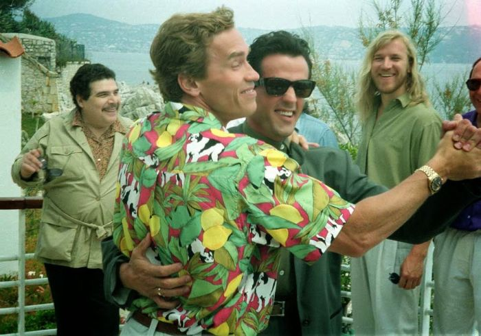 Arnold Schwarzenegger Wishes Sylvester Stallone A Happy Birthday