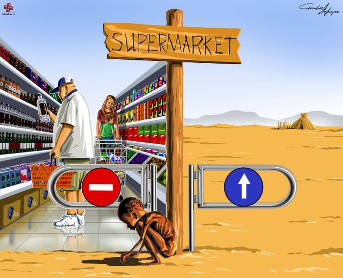 Today's Problems Captured In Satirical Illustrations By Gunduz Agayev