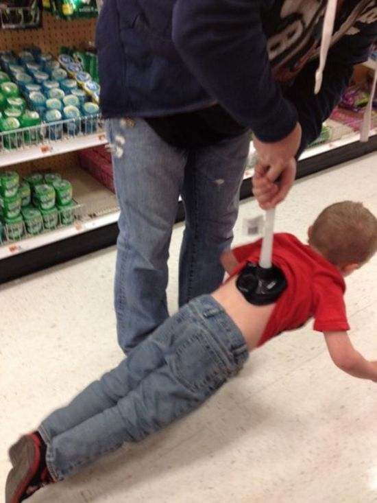 Photos That Prove Kids Shouldn't Be Left Alone With Their Dads