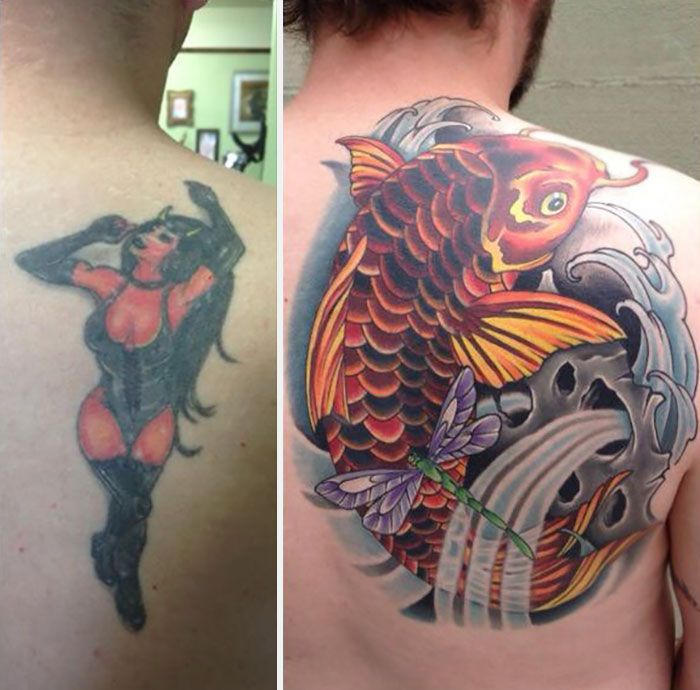 Creative Tattoo Cover Ups That Show Even The Worst Tattoos Can Be Fixed